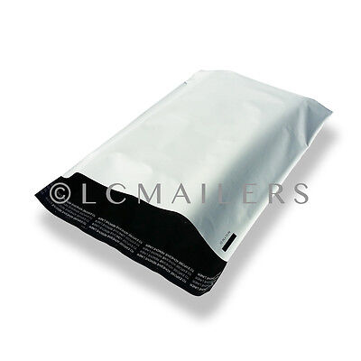 100 12x15.5 Poly Mailers Envelopes Self Sealing Plastic Shipping Bags