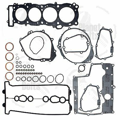 Complete Engine Gasket Kit Yamaha YZF R1 98-01 Head Set Kit Motor Upper Rebuild