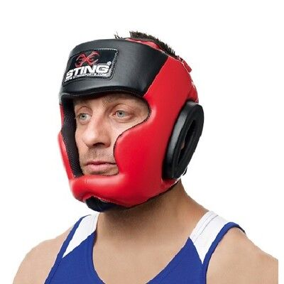 Sting Armalite Full Face Head Guard Training Equipment Protection MMA Boxing