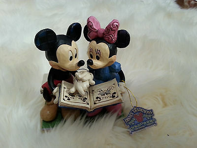 Jim Shore 'Sharing Memories' Disney Showcase Mickey And Minnie 85th Anniversary