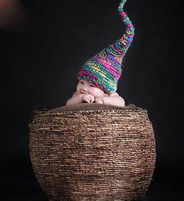 New Creative Photography Prop Handmade Woven Basket for Newborn Baby D-5