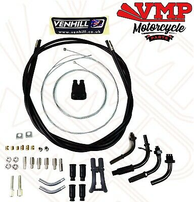 Venhill Universal Dual Twin Throttle Cable Kit 1.35 M Long