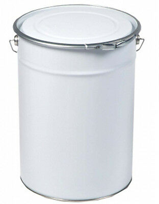 1 X Empty 30L Single Container With Lid Lacquered - For Water-Based Paints