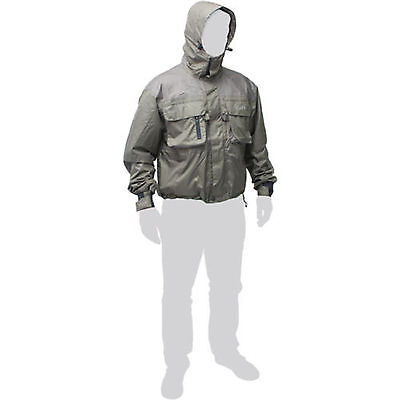 Durable Leeda Volare Breathable Wading Waterproof Fly Jacket - All Sizes