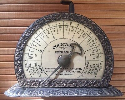 Antique  1898 Countess Postal Scale