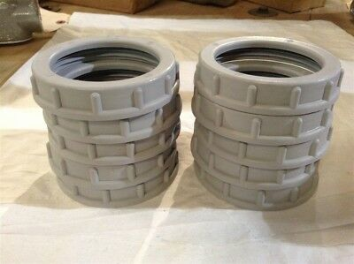 Box Of (10) Crouse Hinds 937 - 2 1/2 Insulated Bushing 105 Degree C New