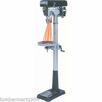 "King Canada Tools KC-116FN 13"" FLOOR DRILL PRESS WITH DUAL LASER GUIDE SYSTEM"