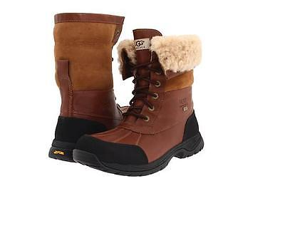 835d2cb8a74 UGG AUSTRALIA MEN'S Butte Cold Weather Boot w/ Sheepskin Vibram Sole Sz  7-13 NEW