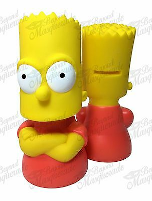 The Simpsons Family Bart Simpson Figure Statue Bust Licensed Piggy Coin Bank