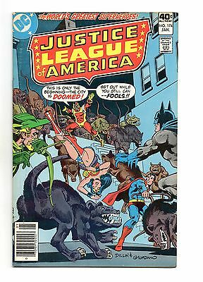 Justice League of America Vol 1 No 174 Jan 1980 (VFN+) Modern Age, Cents Copy