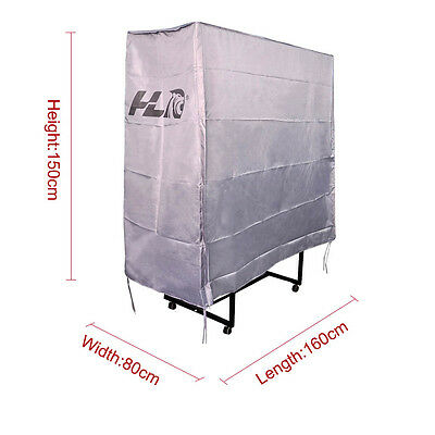 Waterproof Dustproof Protective Folding Table Tennis Table Cover with Zipper