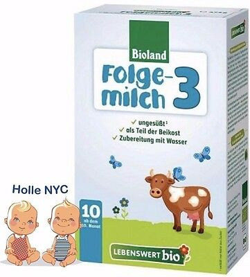Holle Lebenswert Stage 3 Organic Formula,10 months+,12/2017 FREE PRIORITY MAIL