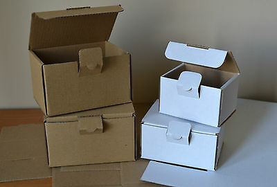 "Small Postal Cardboard Mailing Boxes Pack Of 10 Strong Boxes ""multilisting"""