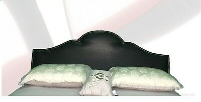 Upholstered Leather Headboard   Full &Queen or  king Size & CA king Size