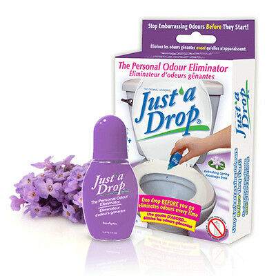 Just'a Drop Personal Toilet Odor Eliminator, 15ml, Refreshing Spring scent