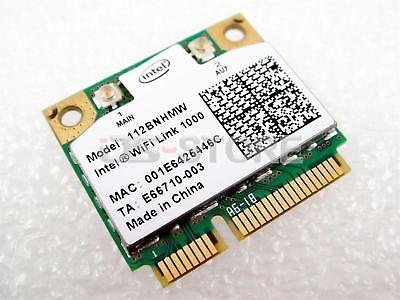 Intel Centrino Wireless-N Link 1000 802.11 b/g/n 300Mbps 112BNHMW Wifi PCIe Card