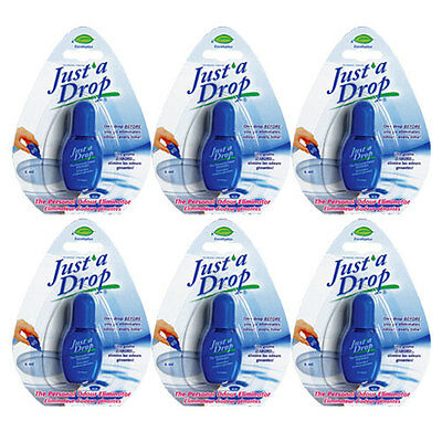 Just'a Drop Personal Toilet Odor Eliminator, 6ml, Value Pack