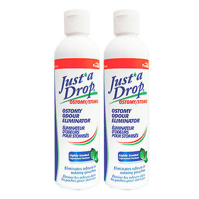 Just'a Drop Ostomy Odor Eliminator, 240ml,Lightly scented, Value Pack