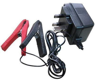 Heavy Duty 12V 12 Volt Trickle Battery Charger Car Van Motorhome Caravan Etc