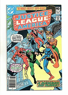 Justice League of America Vol 1 No 181 Aug 1980 (VFN+) Modern Age, Cents Copy