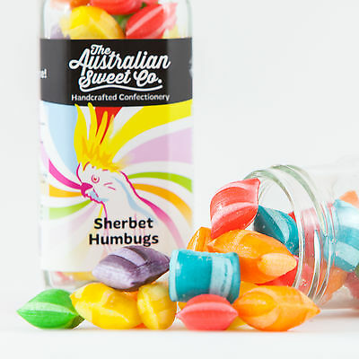 Sherbet Humbugs Rock Candy Boiled Bulk Lollies - Wedding Favours Party