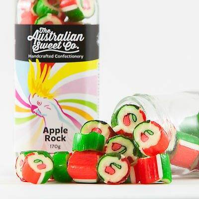 Apple Rock Candy Bulk Boiled Lollies - Wedding Bombonniere Party Christmas