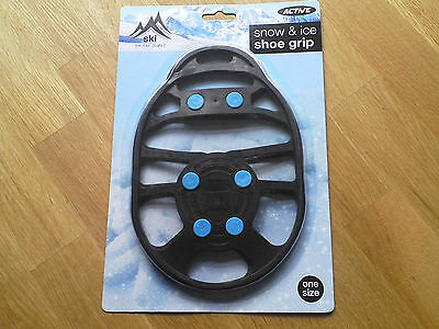 Snow & Ice Treads Over Shoe Boots Safety Grips Anti Slip , free postage .