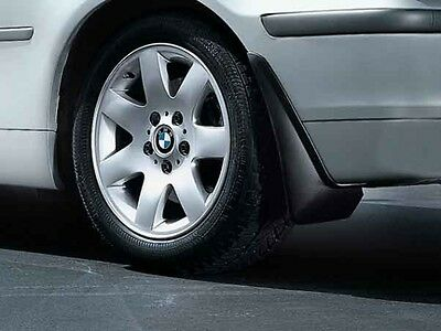 BMW Genuine Mud Flaps Guards Set Rear E46 3 Series Coupe/Convertible 82160301698