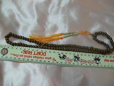 Mala Wooden bead necklace  040