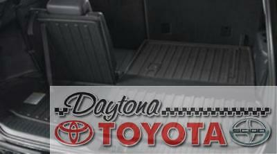 2014 - 2018 Genuine Toyota Highlander Gray All Weather Cargo Tray Pt924-48140-10