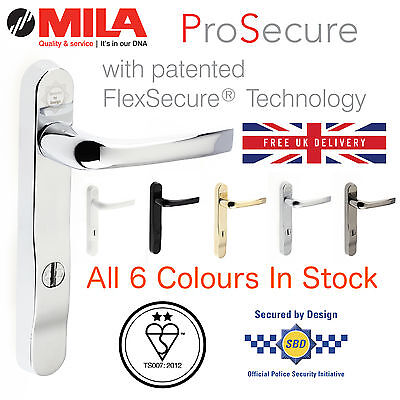 MILA PROSECURE 220MM High Security Door Handle Kitemark 2* - 6 ...