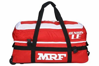 MRF Genius LE Cricket Wheelie Kit Bag Players Grade +AU Stock +Free Ship & Extra