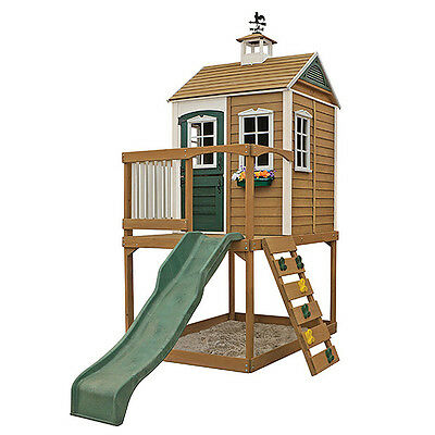 NEW Big Backyard Clubhouse Queensland Wooden For Boys And Girls Age 3 - 10