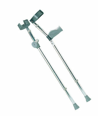 Forearm Crutches with Ergonomic Grip Pair  *Brand New*