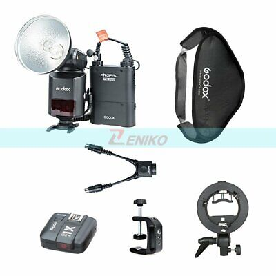 Godox AD360II-N TTL HSS Flash & Battery + X1T-N Trigger + Softbox + Bracket Kit