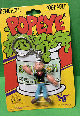 Popeye 3-D Collector Keychain