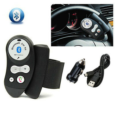 HFP&A2DP Hands-free Bluetooth Car Kit Mount on Steering Wheel for mobile phone