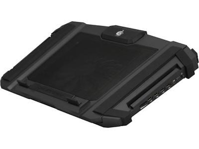 CM Storm SF-17 - Gaming Laptop Cooling Stand with 180 mm Fan and 4 Ergonomic Hei