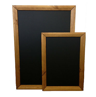 Quality Framed Chalkboard Blackboard - Ideal For Indoor Use With Liquid Chalk