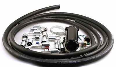 Universal Air Conditioning hose kit with drier and binary switch