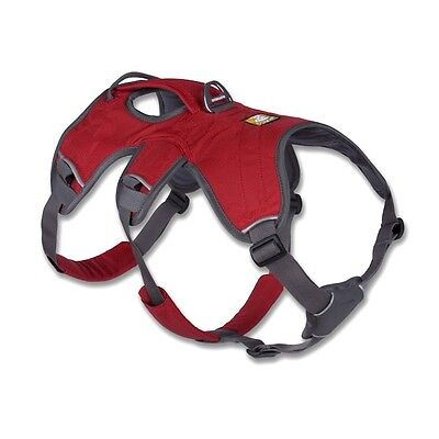 Ruffwear Webmaster Dog Harness Red Currant NEW