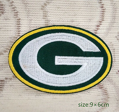 Green Bay Packers Iron On Embroidered Patch Shirt Bag hat