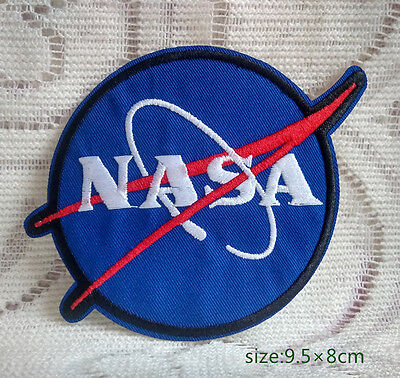 USA NASA Space Program Vector Embroidered Patch Emblem