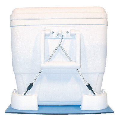 Marine/Boat Cooler Mounting Kit with Straps for Igloo & Various Models