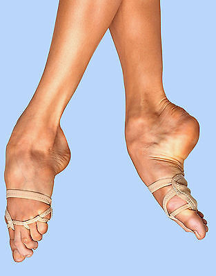 Bloch Foot Thong 11 Style SO602L Contemporary Dance Lyrical Shoes