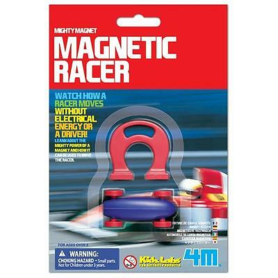 Mighty Magnetic Racer Car - 4M Kids magnet racing cars educational toy science