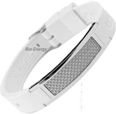 health Magnetic Energy  Power Bracelet Health 5in1 Bio Armband silicone