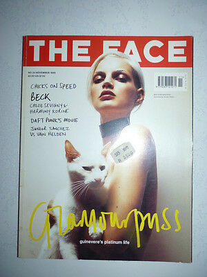 Magazine revue de mode fashion THE FACE #34 november 1999 Guinevere's life