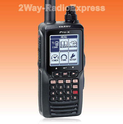YAESU FTA-550L AirBand Pilot Radio, Li-Ion Battery, with ILS, VOR!