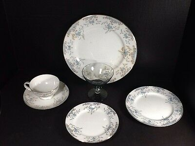 Vintage Imperial China Seville 5 Piece Place Setting